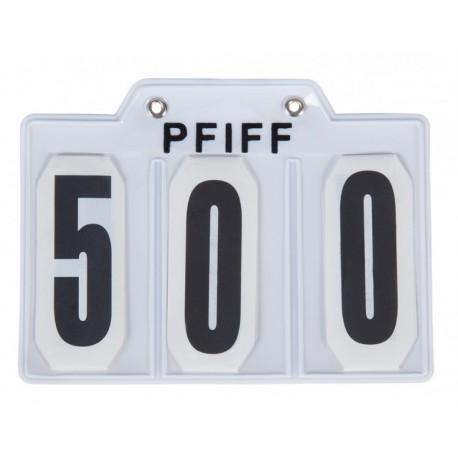 PFIFF Startnummer met speld