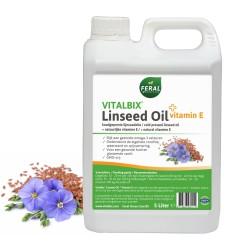 Vitalbix Lijnzaad olie met vitamine E