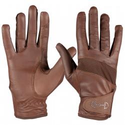 Horze lederen dames handschoenen